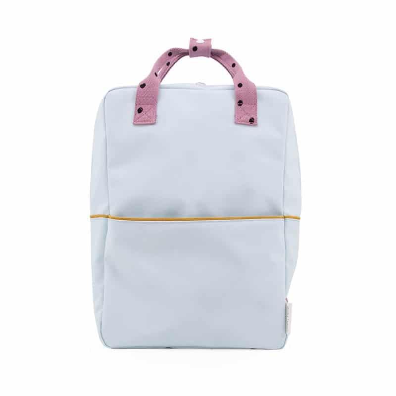 Sticky Lemon Backpack Large Freckles | Blue/Purple/Fudge-0