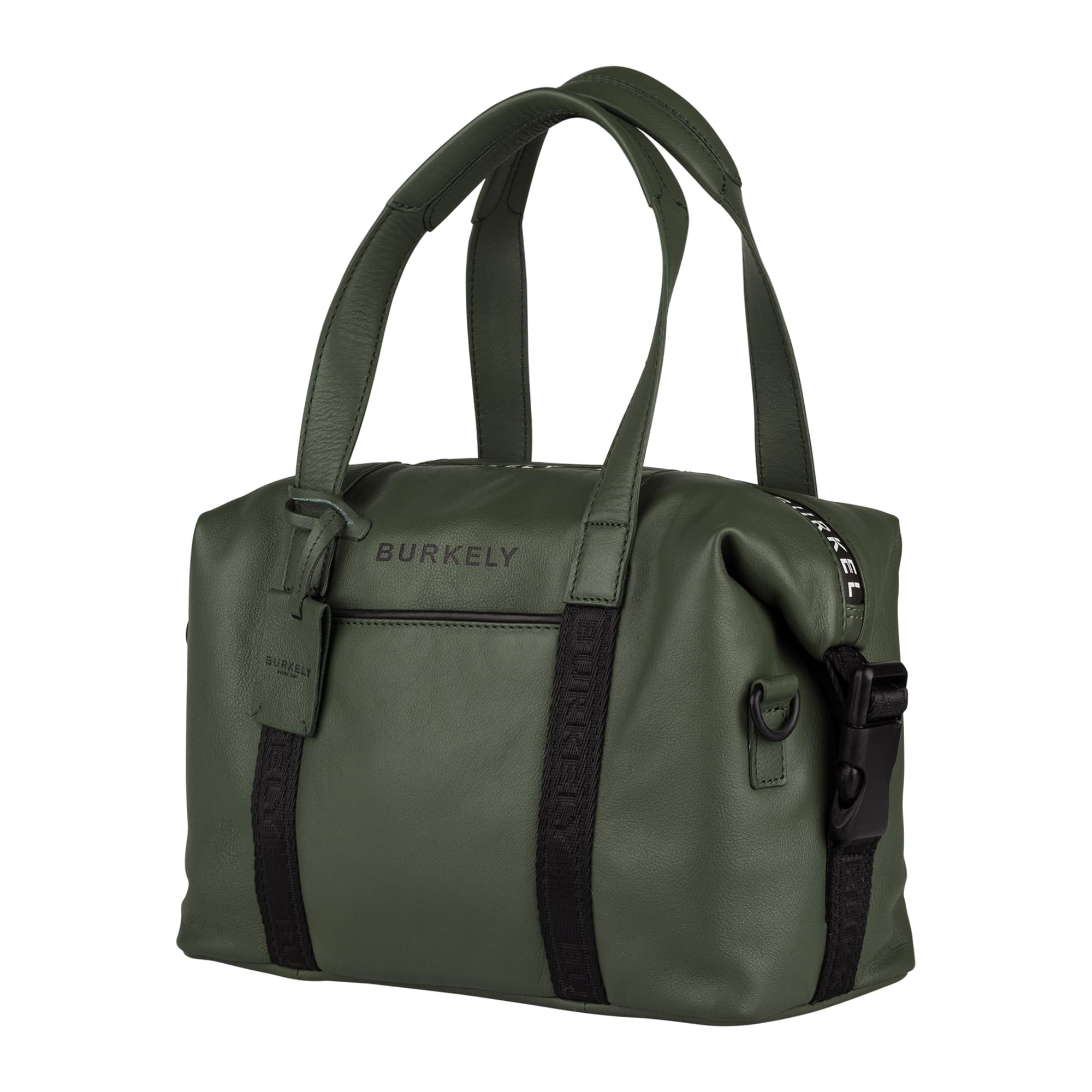 Burkely Rebel Reese Small Handbag Green-185057