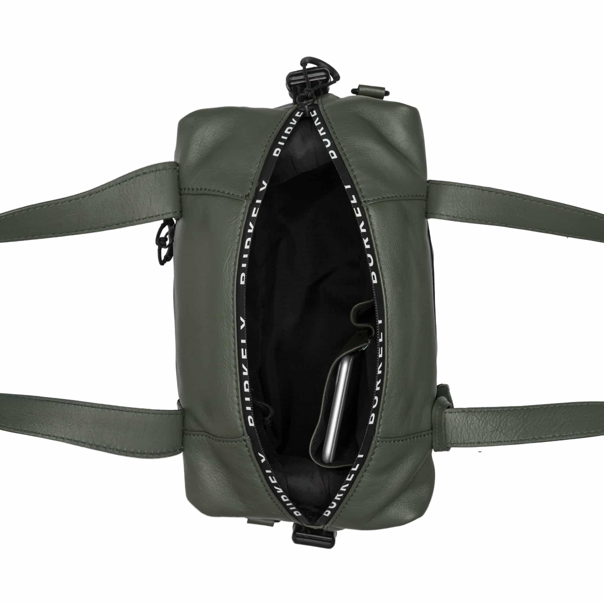 Burkely Rebel Reese Small Handbag Green-185056