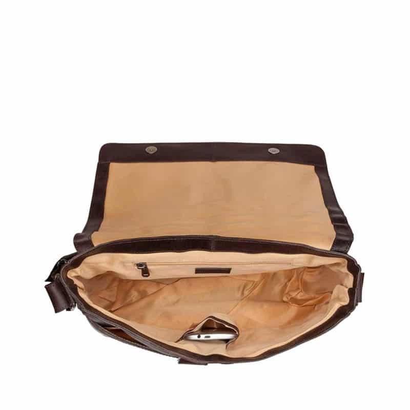 Burkely Juul Vintage Messenger Dark Brown-185074