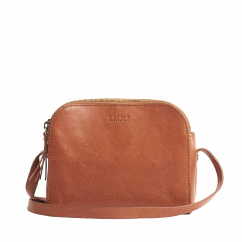 O My Bag Emily Eco Stromboli Camel / Full Leather Strap-0