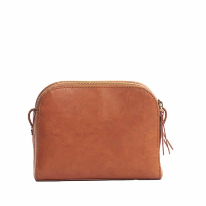 O My Bag Emily Eco Stromboli Camel / Full Leather Strap-185128