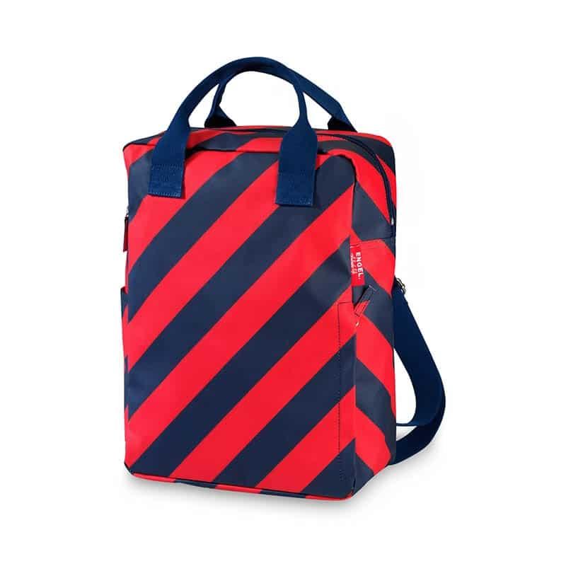 ENGEL Large Backpack Stripe Navy-0