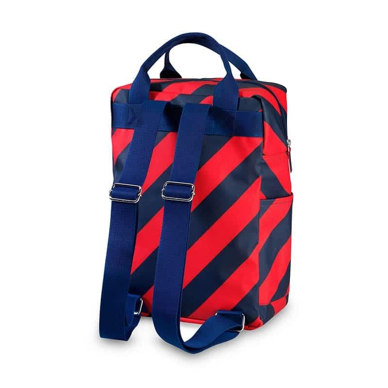 ENGEL Large Backpack Stripe Navy-185161