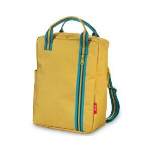 ENGEL Large Zipper 2.0 Backpack Mustard-0