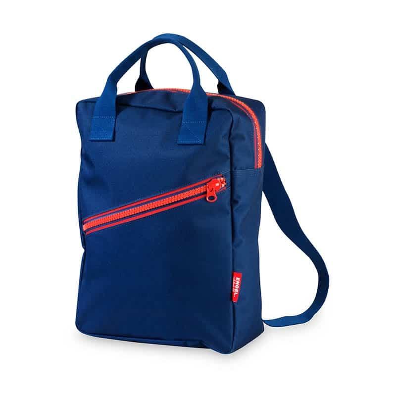 ENGEL Large Zipper Backpack Dark Blue-0