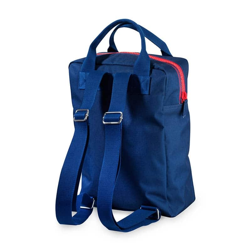 ENGEL Large Zipper Backpack Dark Blue-185145