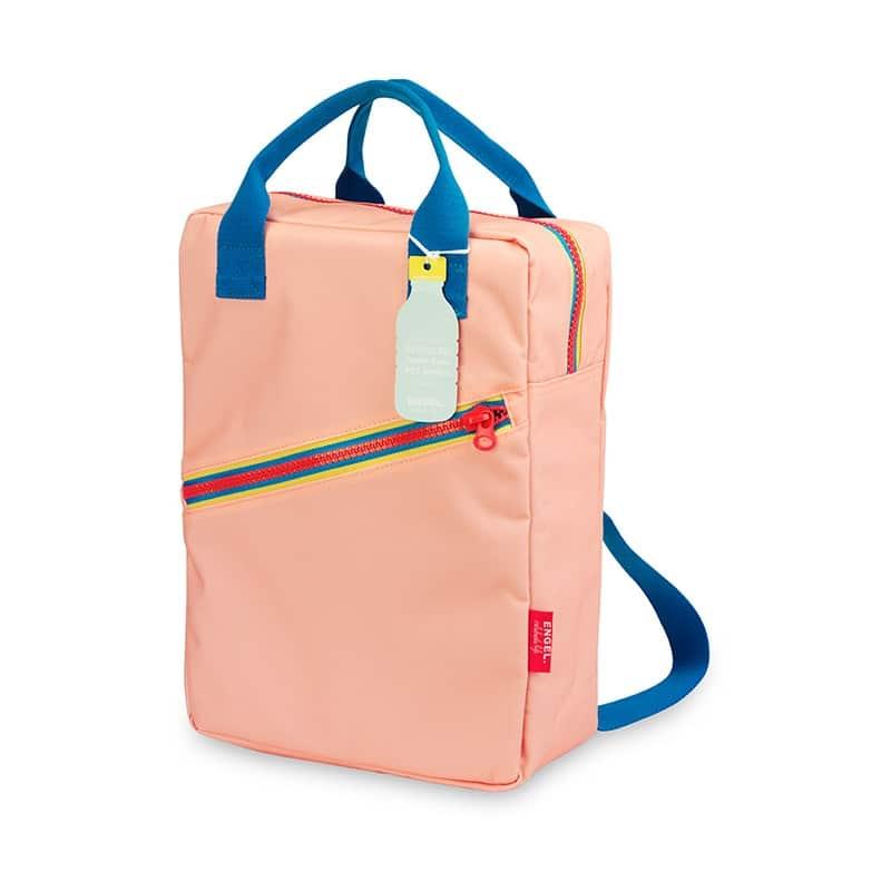 ENGEL Large Zipper Backpack Pink-0