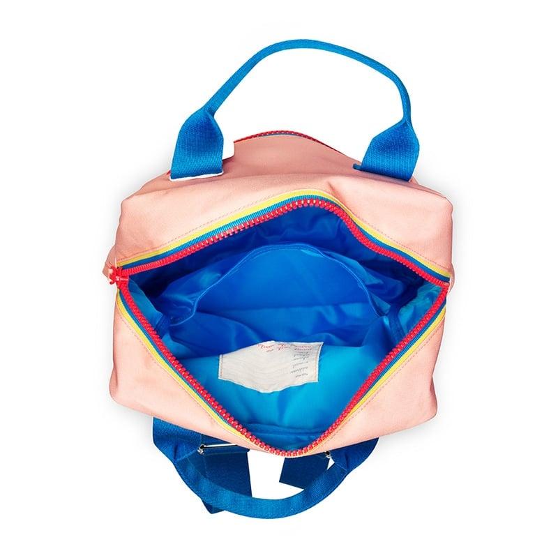 ENGEL Large Zipper Backpack Pink-185151
