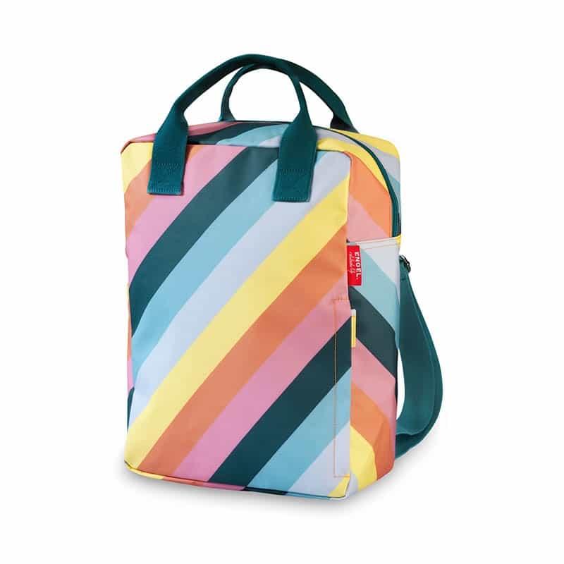 ENGEL Large Backpack Stripe Rainbow-0