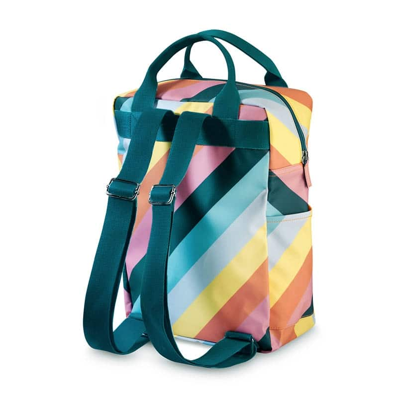ENGEL Large Backpack Stripe Rainbow-185147