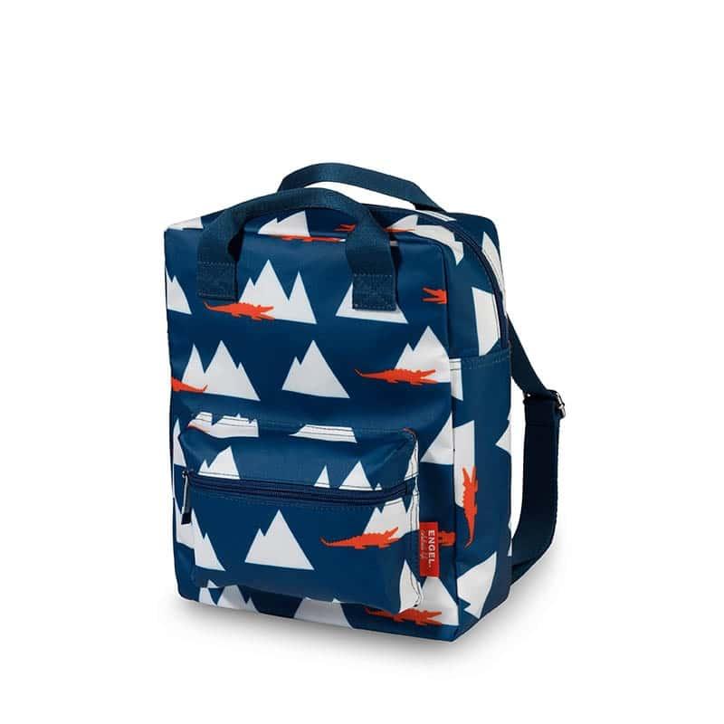ENGEL Medium Backpack Croco-0