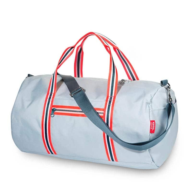 ENGEL Weekendbag Zipper 2.0 Light Blue-0