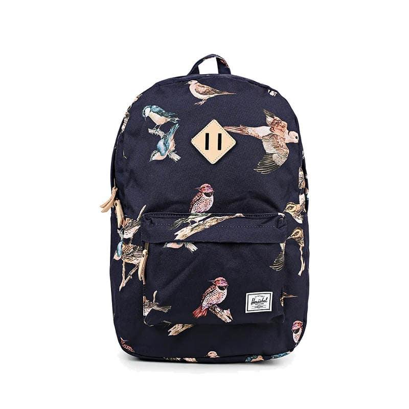 Herschel Heritage Backpack Birds Of Herschel | Peacoat Birds-0