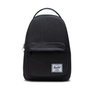 Herschel Miller Backpack Black Crosshatch-0