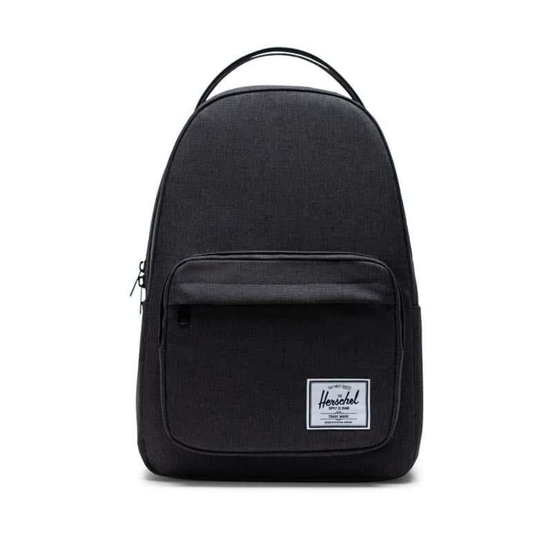 Herschel Miller Backpack Black Crosshatch-0