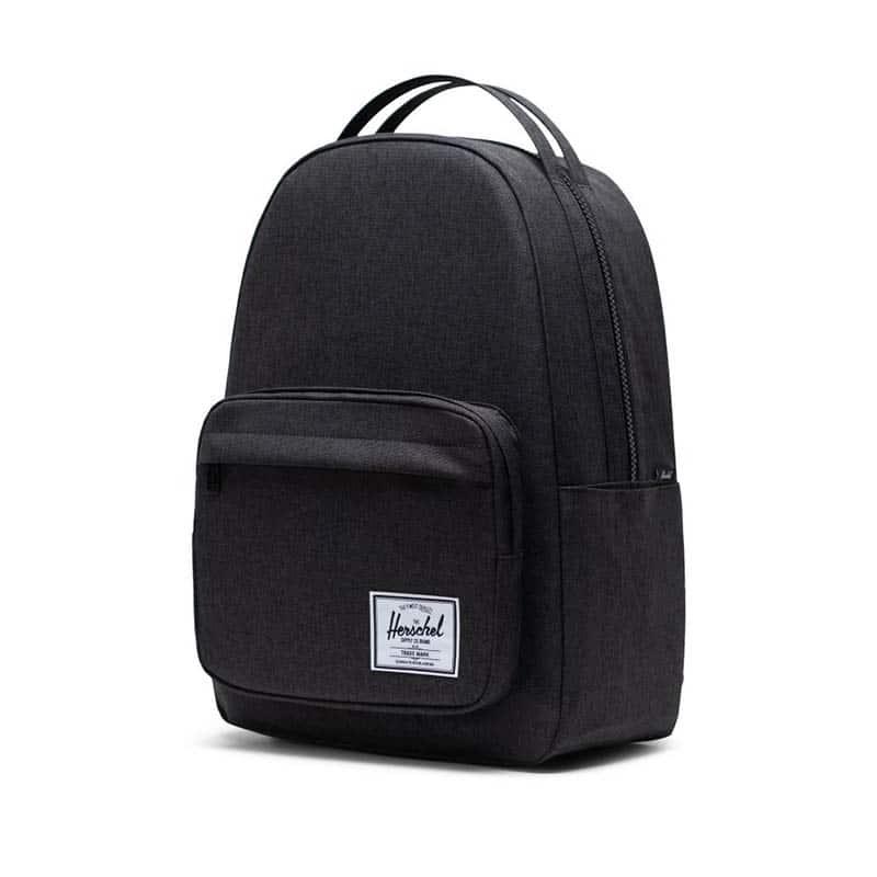 Herschel Miller Backpack Black Crosshatch-184973