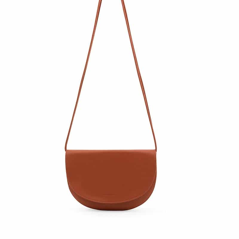 Monk & Anna Soma Half Moon Bag Burnt Orange