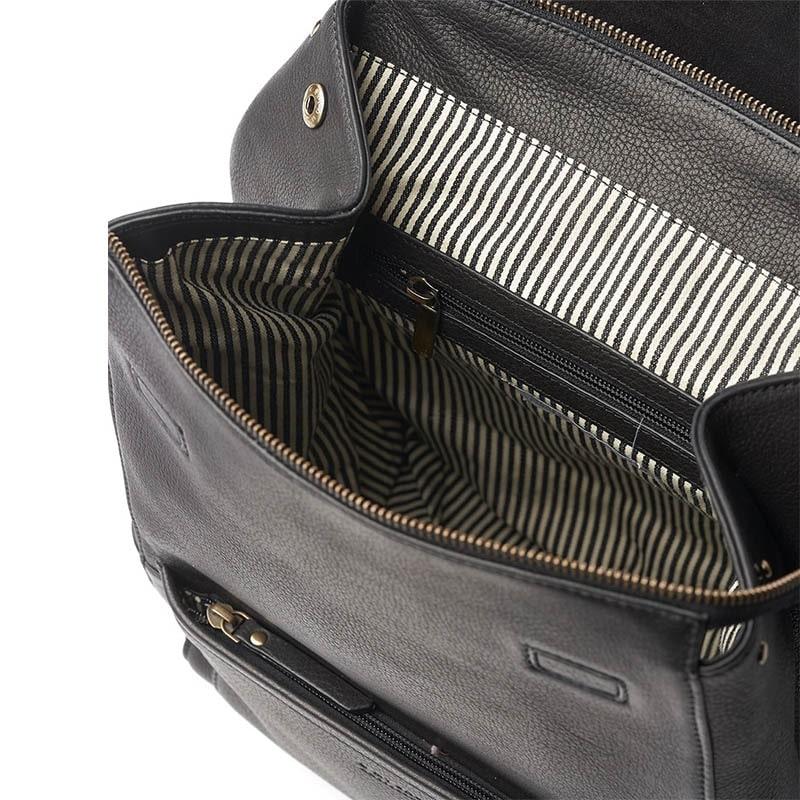 O My Bag Jean Backpack Black-185093