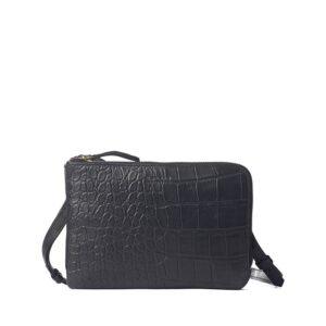 O My Bag Lola Black/Croco-0
