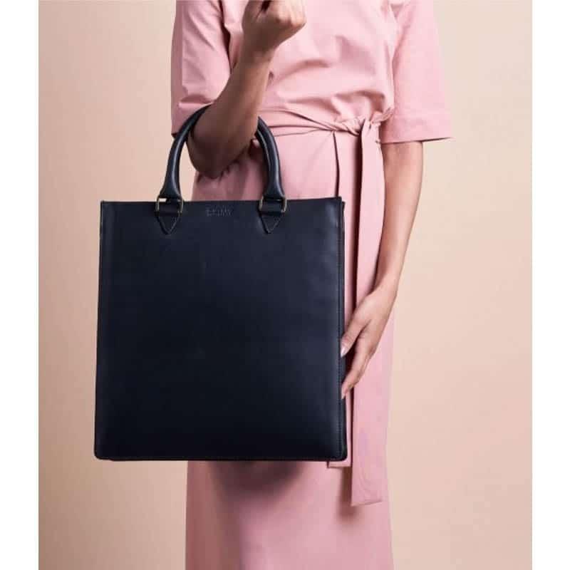 O My Bag Mila Shopper (Short Handle) Black-185091