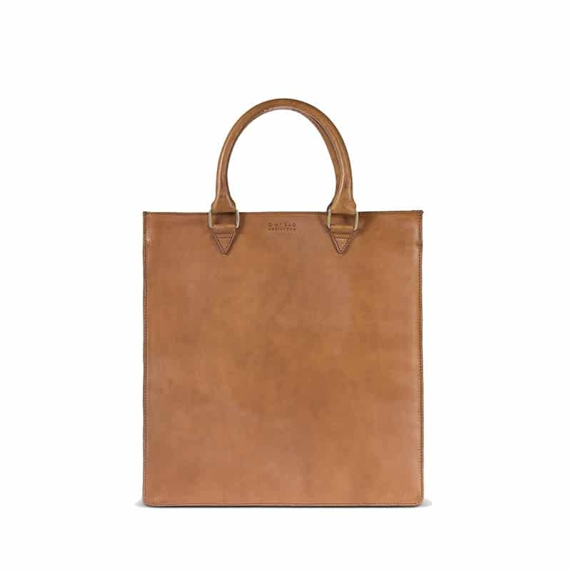 O My Bag Mila Shopper (Short Handle) Cognac-0