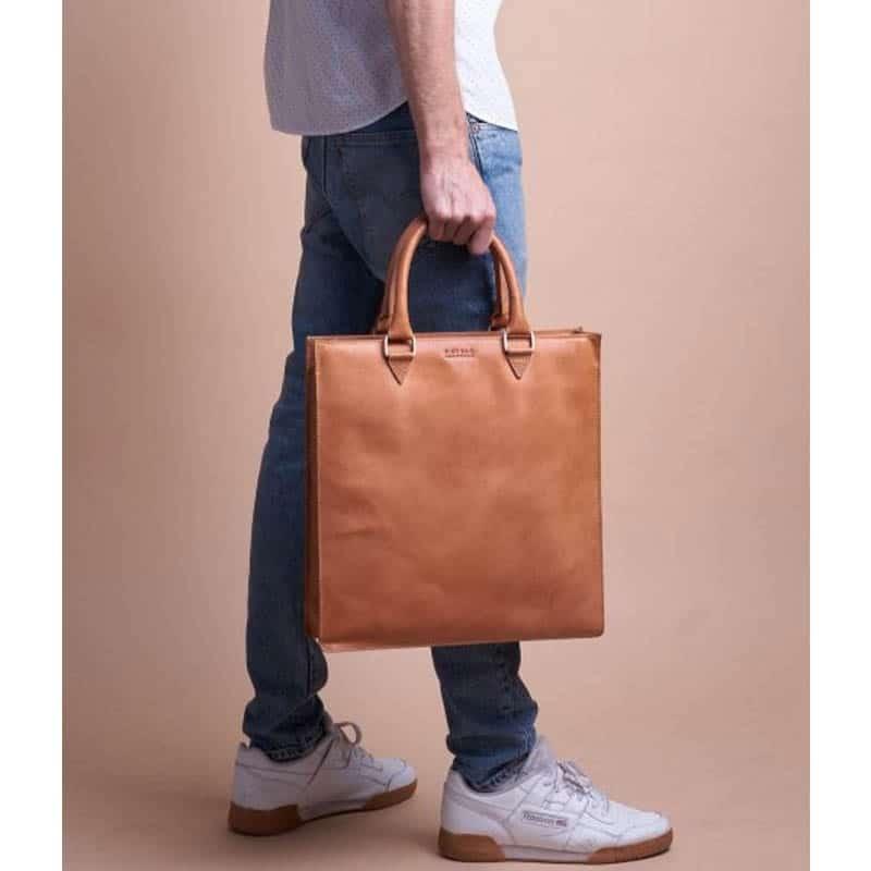 O My Bag Mila Shopper (Short Handle) Cognac-185121