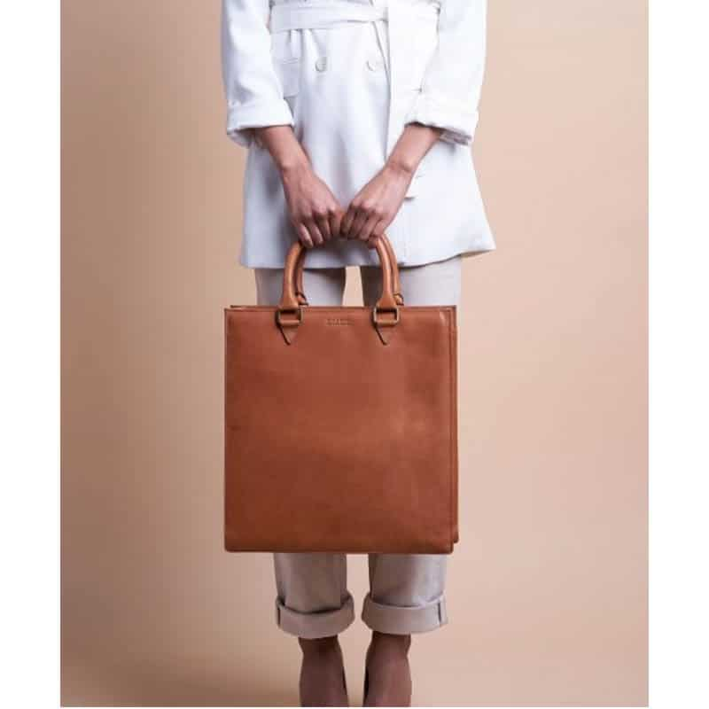 O My Bag Mila Shopper (Short Handle) Cognac-185122