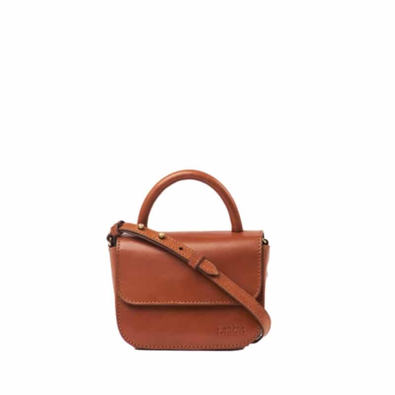 O My Bag Nano Bag Cognac -0