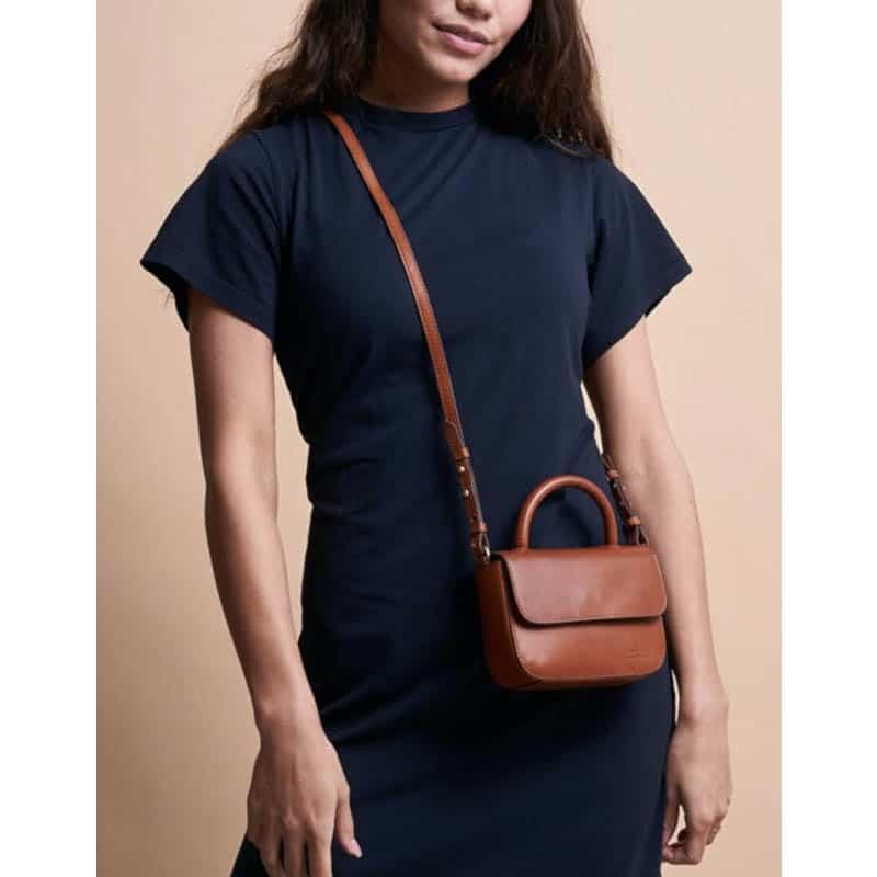 O My Bag Nano Bag Cognac -185099