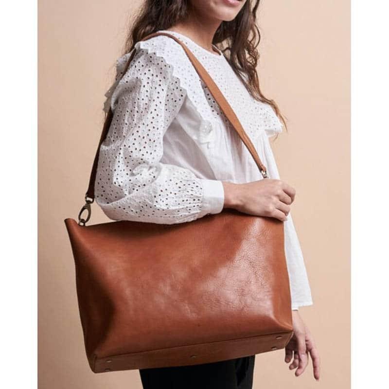 O My Bag Olivia Eco Stromboli Cognac-185117