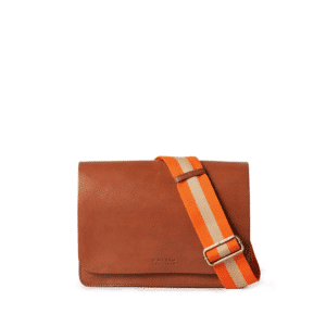 O My Bag Audrey Eco Classic Cognac -0