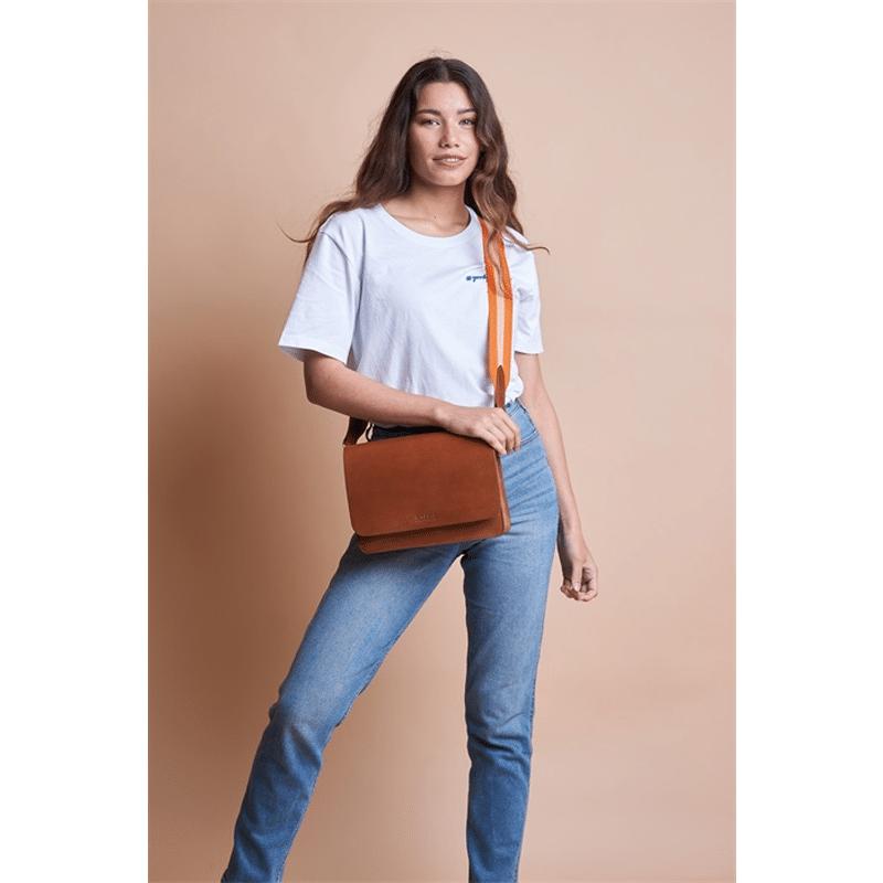 O My Bag Audrey Eco Classic Cognac -185134