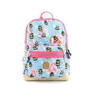 Pick & Pack Backpack Medium Bee Sky Blue