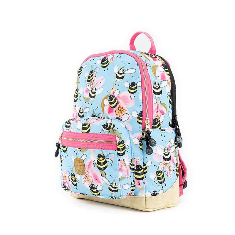Pick & Pack Backpack Medium Bee Sky Blue-184799