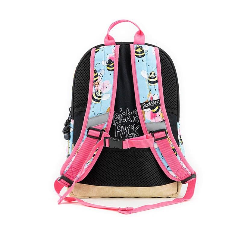 Pick & Pack Backpack Medium Bee Sky Blue-184800