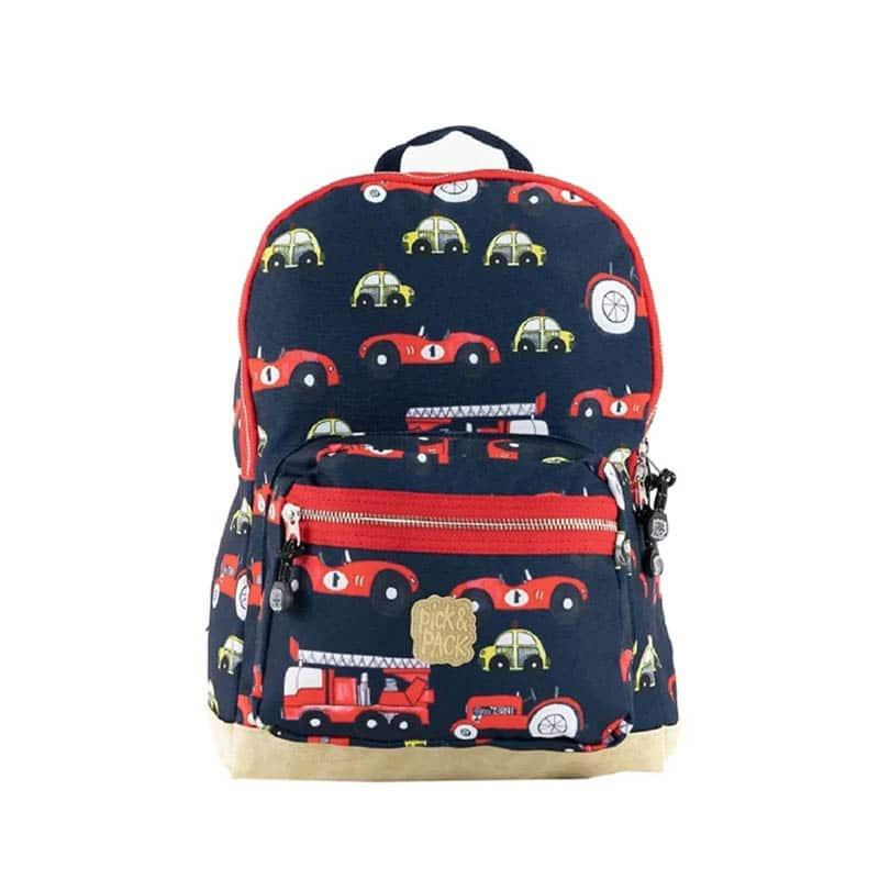 Pick & Pack Backpack Medium Cars Navy-0