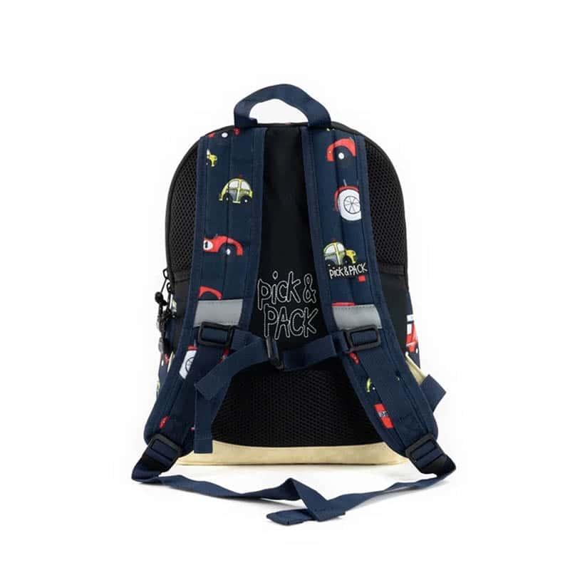 Pick & Pack Backpack Medium Cars Navy-184804