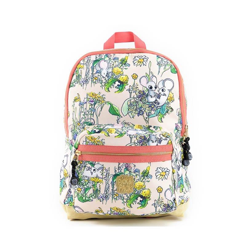 Pick & Pack Backpack Medium Mice Pink-0