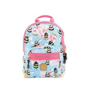 Pick & Pack Backpack Mini Bee Sky Blue-0