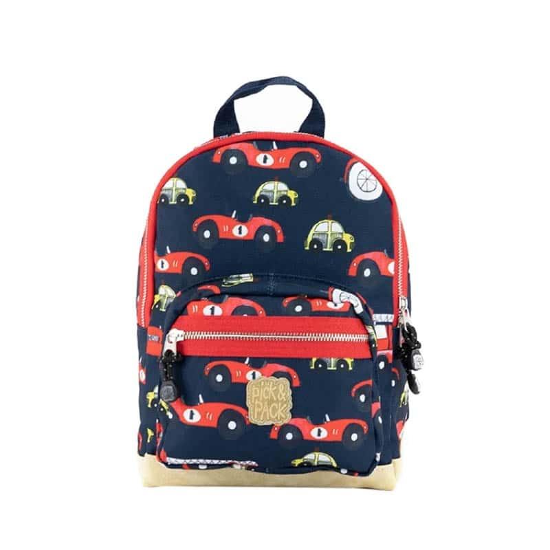 Pick & Pack Backpack Mini Cars Navy-0