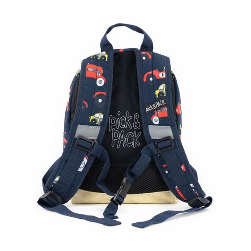 Pick & Pack Backpack Mini Cars Navy-184831