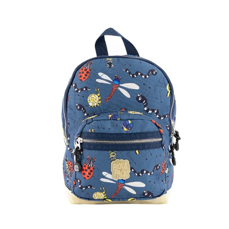Pick & Pack Backpack Mini Insect Petrol-0
