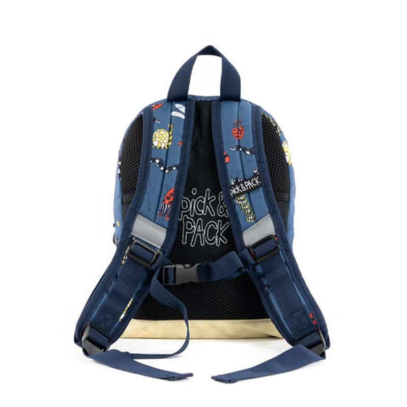 Pick & Pack Backpack Mini Insect Petrol-184819