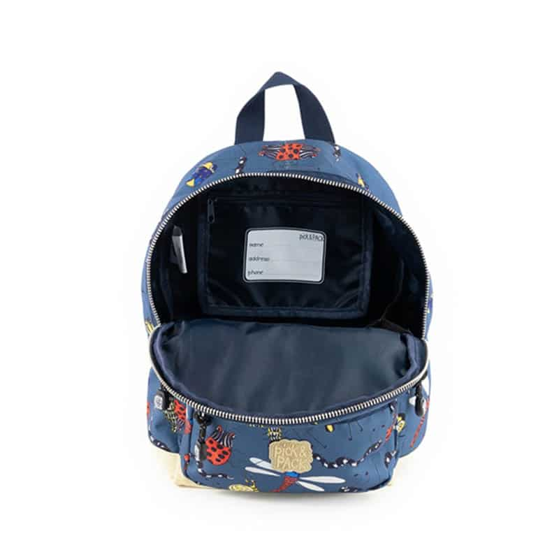 Pick & Pack Backpack Mini Insect Petrol-184820