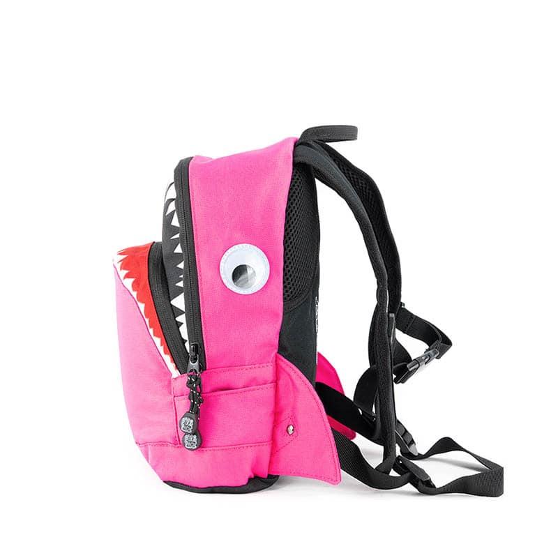 Pick & Pack Backpack Shark Shape Fuchsia-184816