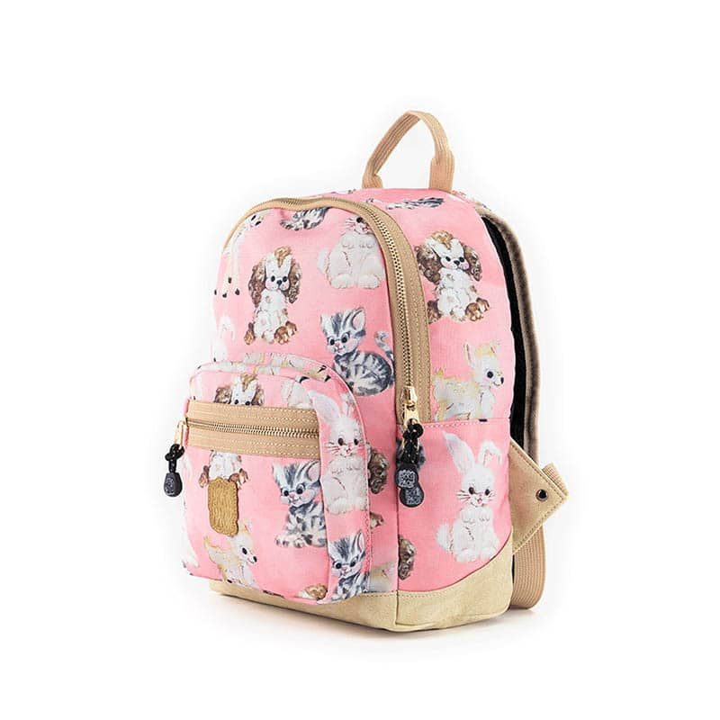 Pick & Pack Small Backpack Cute Animals Coral-184703
