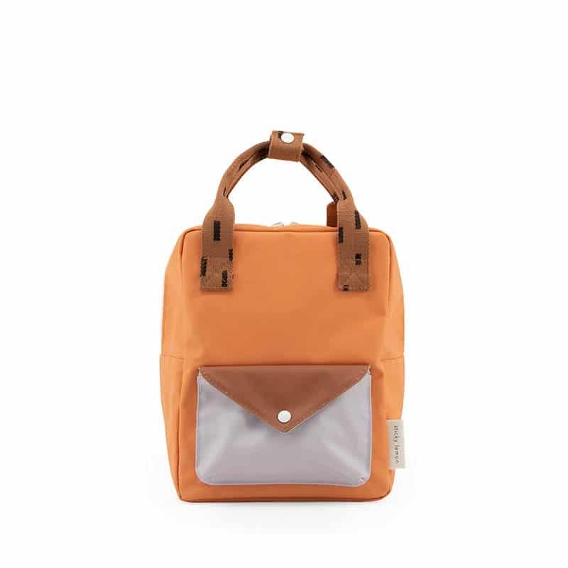 Sticky Lemon Small Backpack Sprinkles Enveloppe Orange/Brown/Lavender-0