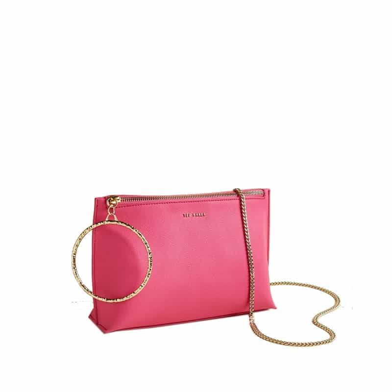 Ted Baker Ingaah Ring Crossbody Bright Pink