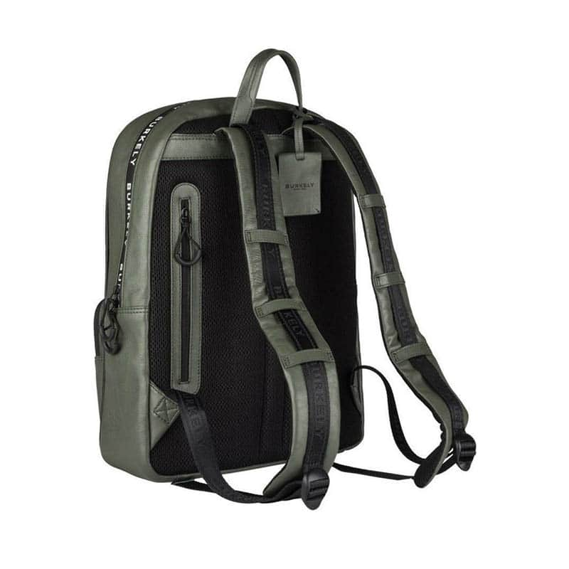 "Burkely Rebel Reese 15"" Backpack Green-185378"